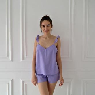 Пижама из натурального льна Linen Pyjamas
