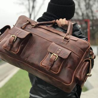 Мужская кожаная сумкка