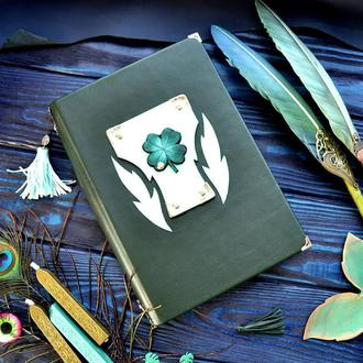 Зеленый блокнот