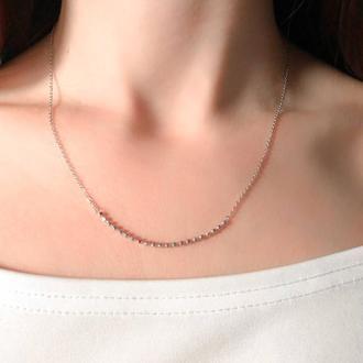 Подарок подвеска девушке, подарок подруге, подарок сестре, серебряная подвеска 925