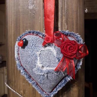 Сердечко валентинка