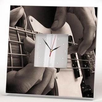 """Настінні годинники для музиканта """"Електрична Гітара"""""""