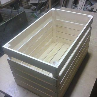 Деревянный ящик для разных целей