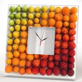 """Дизайнерские настенные часы """"Ягодки"""""""