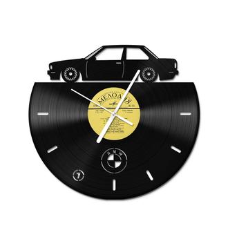 Вініловий настінний годинник BMW e30 Оригінальна платівка Мелодія
