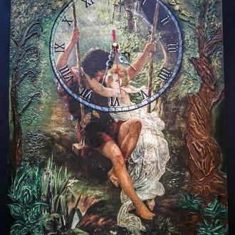 Часы ′ На качелях′