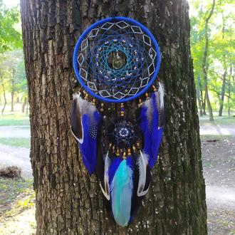 Синий ловец снов - подарок любимому