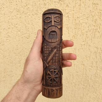 Деревянная статуэтка / Идол / Кумир «Перун»