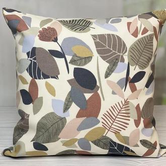 Декоративная наволочка, Декоративная подушка, Интерьерная подушка, Осенняя подушка, Подушка осень