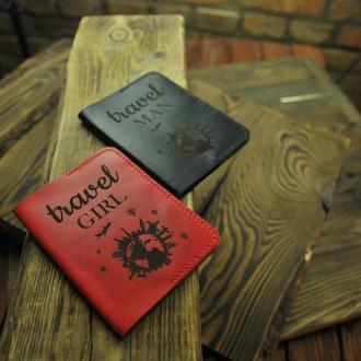 Парные обложки на паспорт