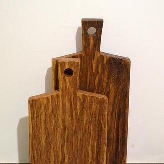 Набор деревянных досок для кухни, доски разделочные, доски кухонные