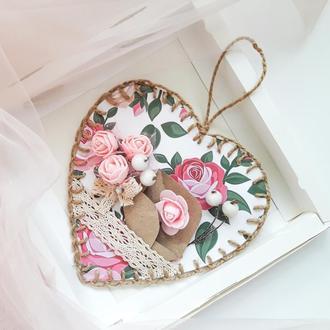 Валентинка (Открытка ко Дню Святого Валентина)