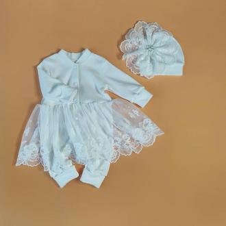 Слипо - платье с бантами
