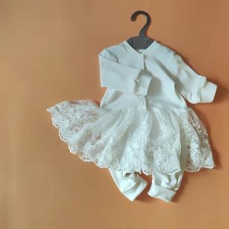 Слипо - платье с цветочным кружевом