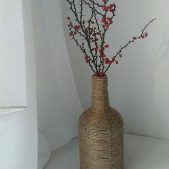 Декоративная бутылка / ваза