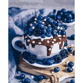 Картина по номерам Шоколадный брауни Кно5557