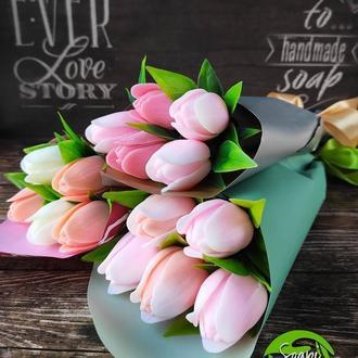 Міні букет з тюльпанів
