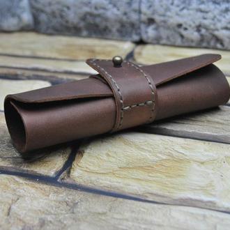 Кожаная ключница свиток KL02-210