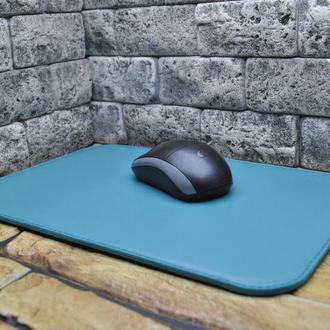 Коврик из кожи для компьютерной мыши KV01-mint