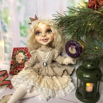 Текстильная лялька Маленькая Принцесса