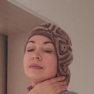 стильная шапочка - берет