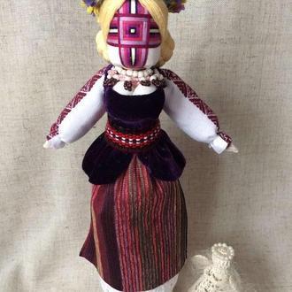 Готовое изделие  кукла-мотанка, единственный экземпляр - НИНА