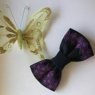 Галстук-бабочка в классическом стиле