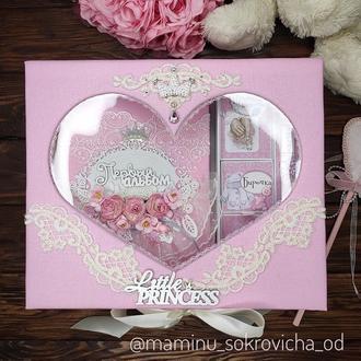 Набор Мамины сокровища с альбомом для фото и Мамиными заметками