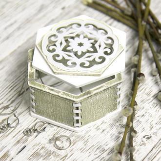 Шкатулка для украшений, органайзер для ювелирных изделий и часов