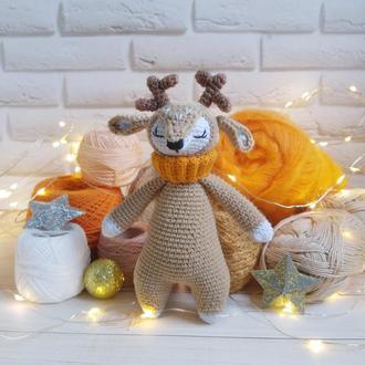 Мягкая игрушка для малышей олень