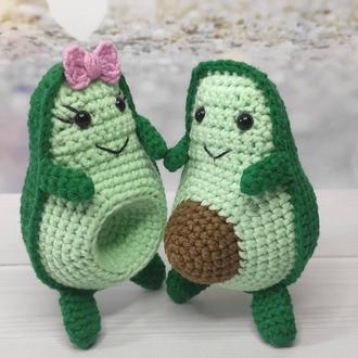 Авокадо ручная работа, подарок любимому, любимой, Св. Валентина, хендмейд подарок