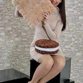 Подушка печенье