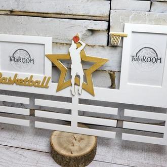 Медальница деревянная, холдер