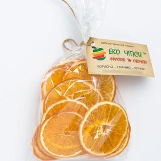 Апельсиновые Эко Чипсы, 50 г