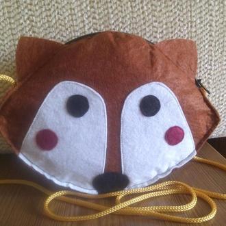 Детская сумочка Лисичка