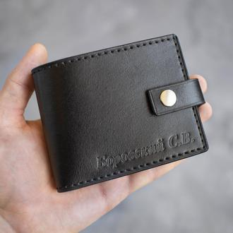Классическое портмоне из натуральной кожи ручной работы