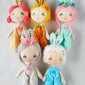 Мини куколки Зайчата (на Выбор!)