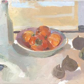 Картина маслом , живопись «Пастельные лакомства»