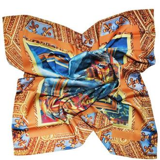 """Дизайнерский шелковый платок """"Флоренция"""""""