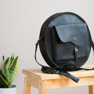 Женская кожаная сумочка.