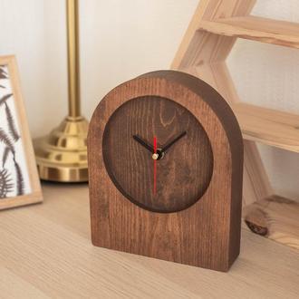 """Настольные часы из дерева """"Shaft II"""""""