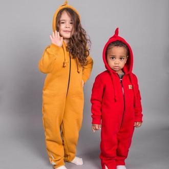 Veragross флисовый комбенизон для девочек и мальчиков от нового украинского бренда