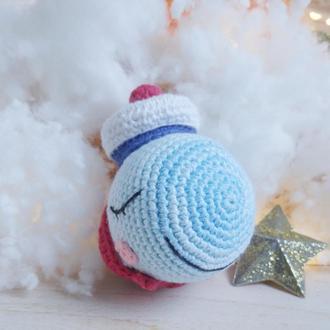 Киты мягкая игрушка для новорожденных и малышей ручной работы