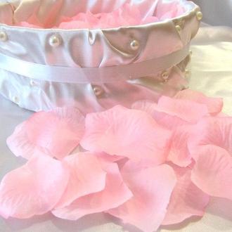 Лепестки роз искусственные розовые (арт. RP-2-600)