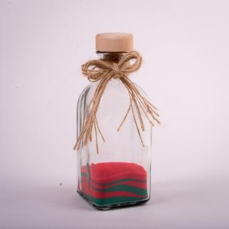 Бутылка-сосуд для песочной церемонии (арт. SCB)