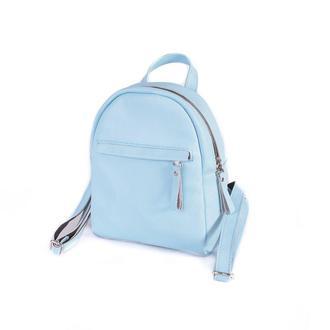 Кожаный рюкзак Bright Baby Blue
