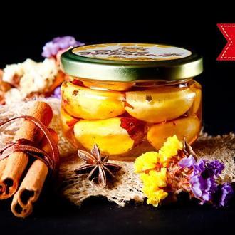 Бразильский орех в мёде / Орехи в мёде / Бразильский орех в меду / Орехи в меду/ Крафтовое