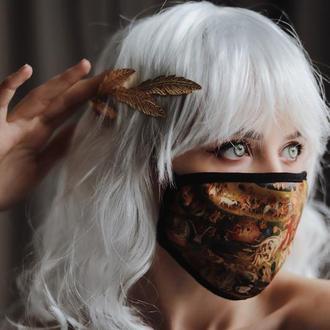 Арт маска для обличчя. Триптих Босха Сад задоволень