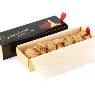 Подарочный набор Франковский гостинец - печенье Ореховое - 330г