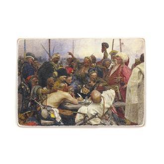 """Деревянный постер Wood Posters """"Запорожцы пишут письмо турецкому султану"""""""